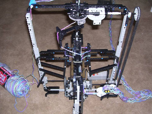 Lego Knitting Machine