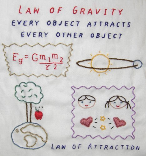 scientific embroidery