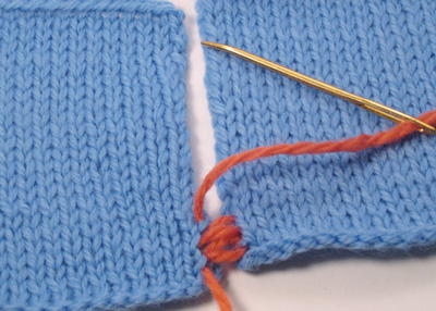 vertical mattress stitch