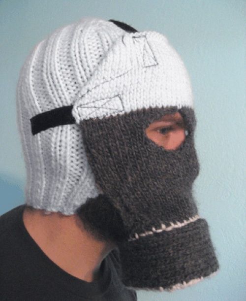 Knittedgasmask
