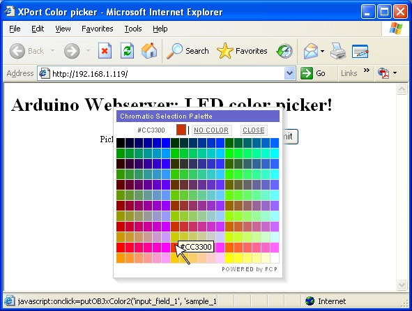 Colorpicking