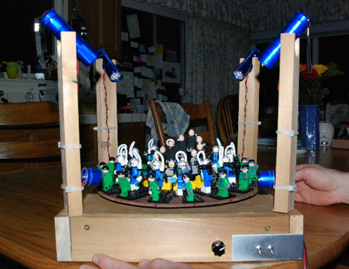 Legozoetrope