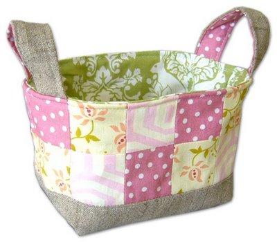 Pinkpenguin Fabricbasket