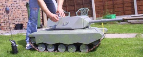 Rc Tank Combat Crop