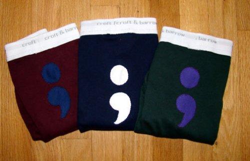 Semi Colon underwear