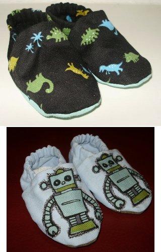 make baby booties