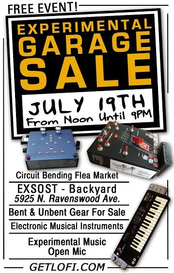 Experimental Garage Sale
