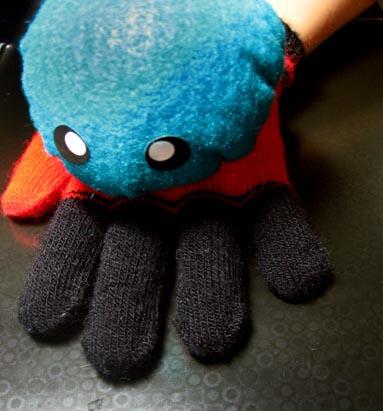 octopus glove