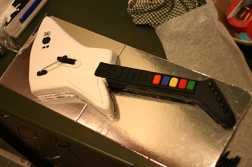 Guitarherocake