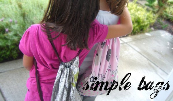 simple bags back to school