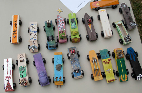 Pinewoodderbycars