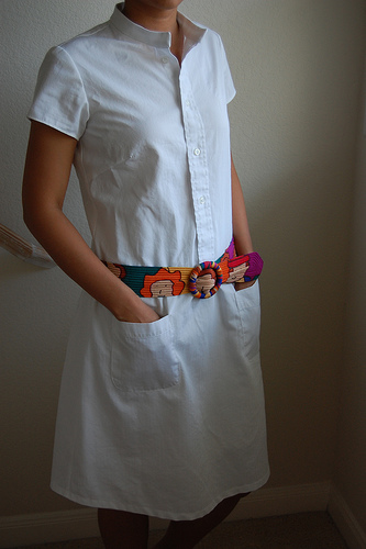 refashion shirtdress