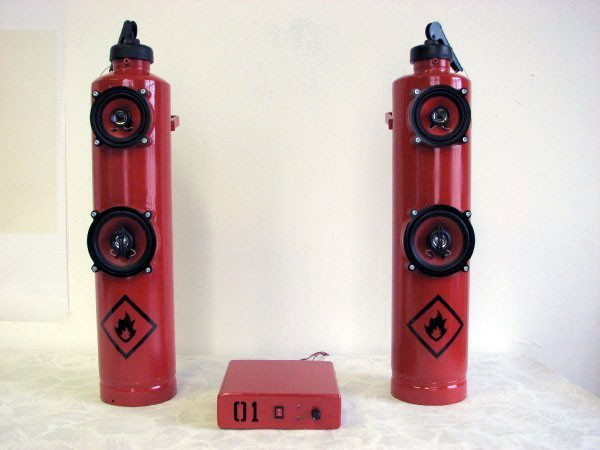 Fire Extinguisherspeakers