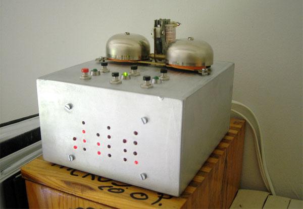 Indestructable Binary Alarm Clock