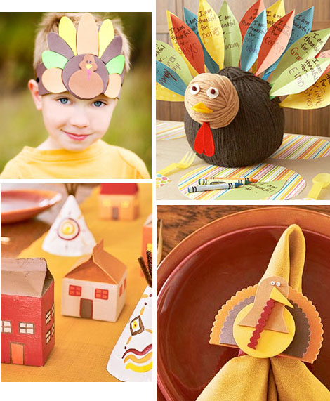 kids thanksgiving ideas