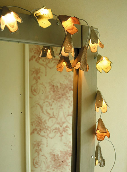 How To Recycled Egg Carton Fairy Lights Make