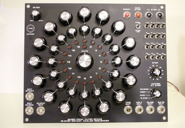Mfos Rotary Sequencer