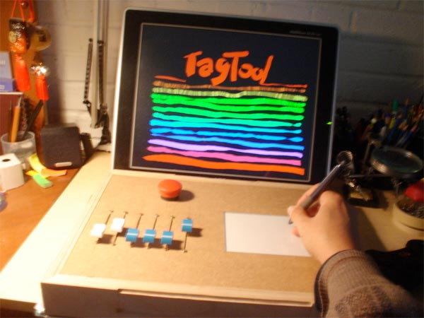 Tagtool live drawing interface | Make: