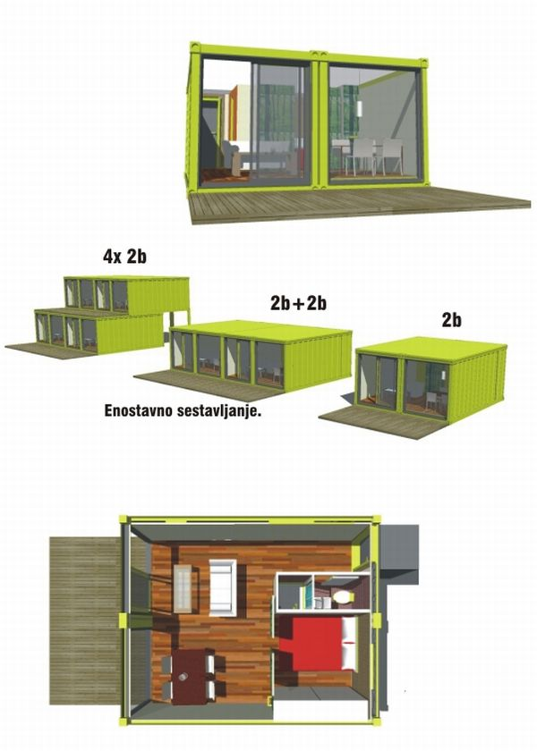 Conhouse Container Ish Housing Make
