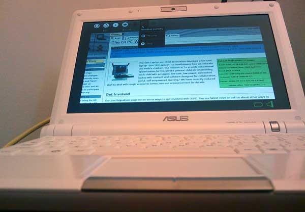 Sugar on an EEE PC