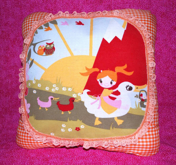 Patchworkworld Tshirtpillow