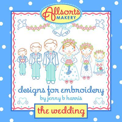 Allsorts Weddingembroidery