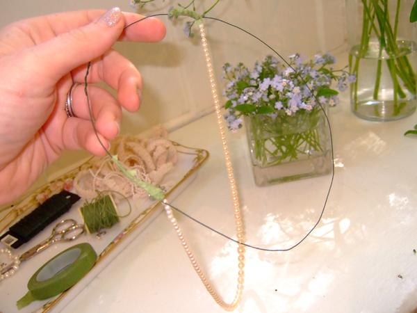 Bridalheadpiece Step5