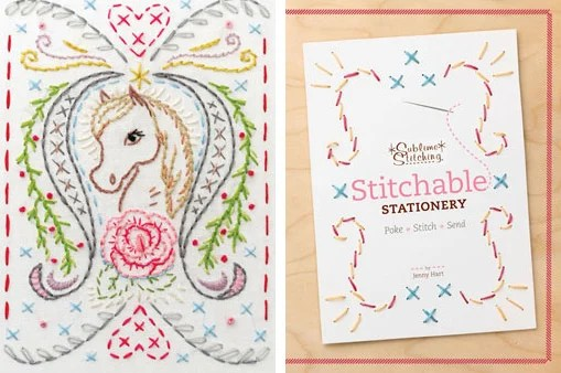 Sstitching Journal Stationery
