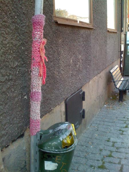 Stockholm Knittedgraffiti