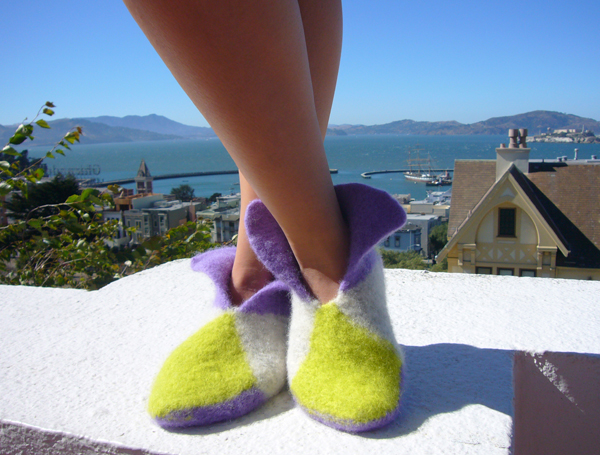 Feltedslippers