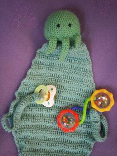 Cthulhu Baby Blanket Make