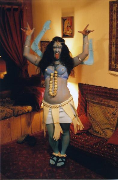 Goli Kali Halloween
