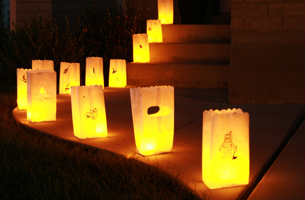 Paper Bag Luminaries Make
