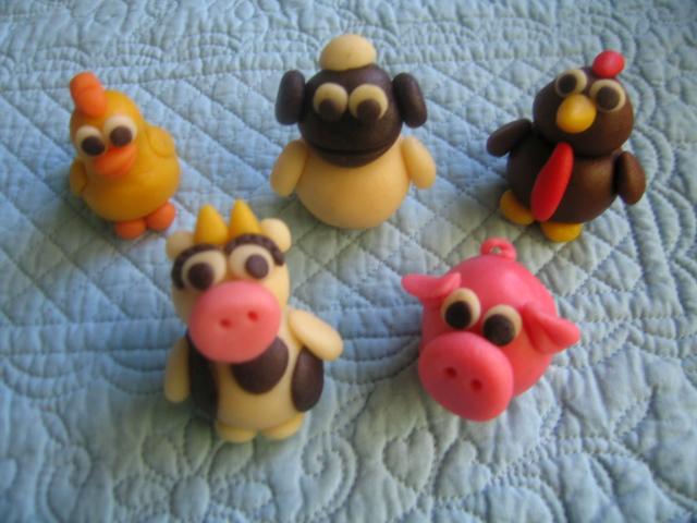 How To Marzipan Animals Make