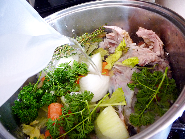Thanksgiving Broth Addwater