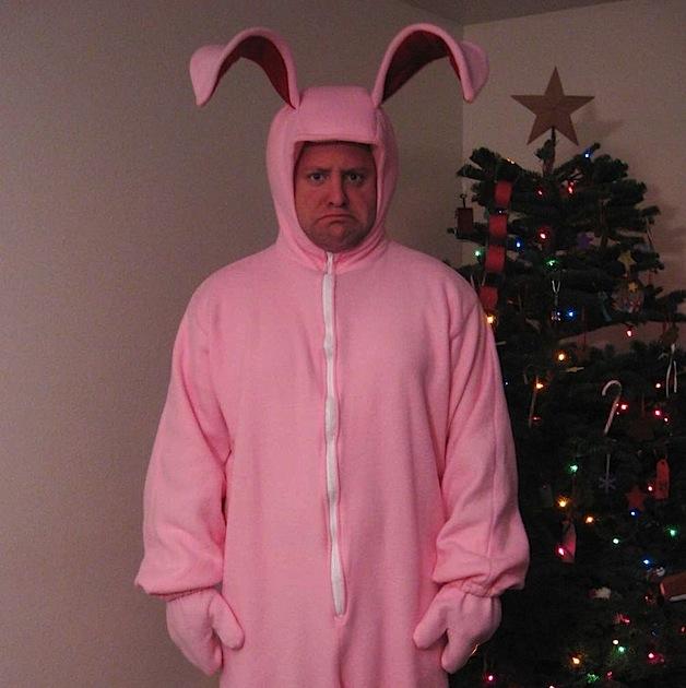 - How-To: Christmas Story Bunny Costume Make: