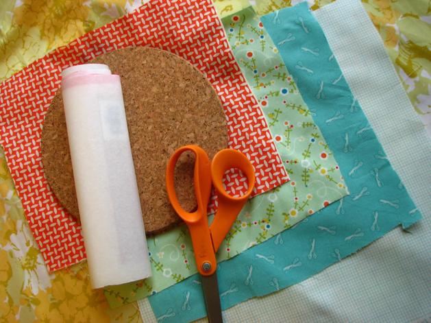 Corkboard Mosaic Step1