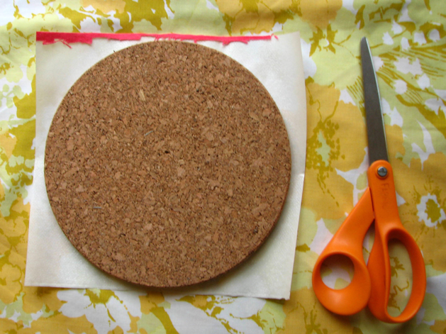 Corkboard Mosaic Step2A