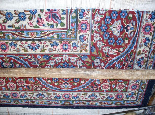 Rug Weavers Of Kerman Iran Make