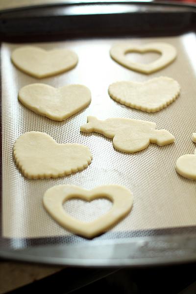 Valentinecookie Cookiesheet