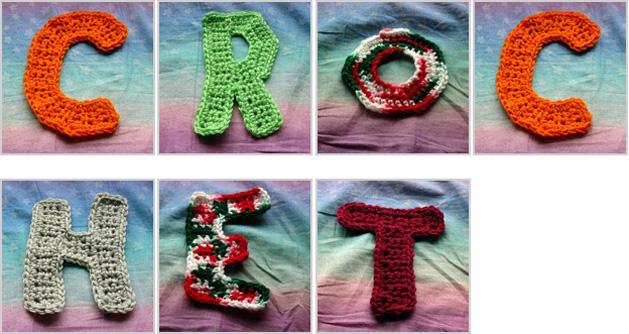 Crochet Letters Make