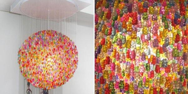 Gummy bear chandelier make aloadofball Images