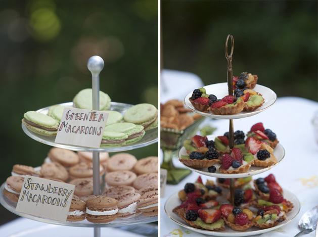 Jessicawedding Macarons Tarts