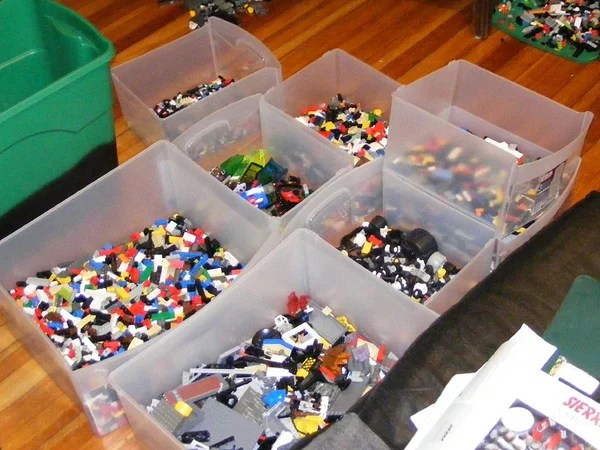 Grab Every Lego Brick You Own And Shove It In A Big Box U2014 More Of A Storage  Method Than A Way To Organize Your Bricks. Speaking As A Parent Of Three ...