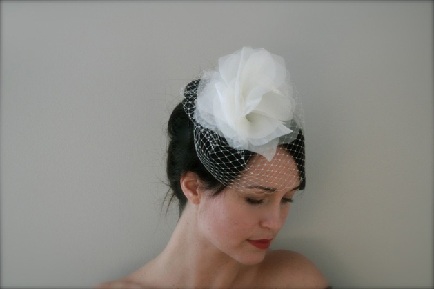 Russian Birdcage Fascinator