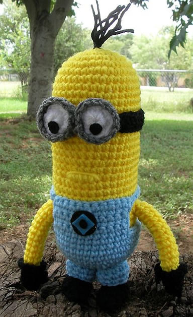 Despicable Me Minion Crochet Pattern Make
