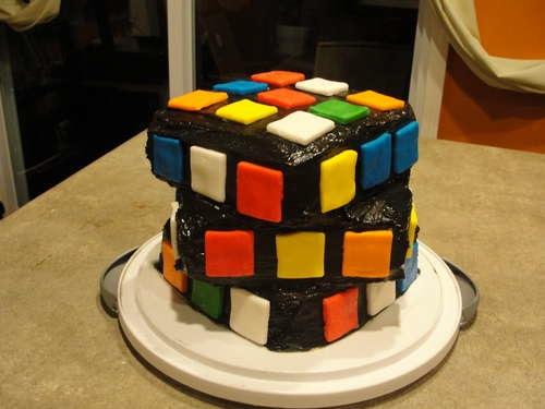 rubik s cube cake s make