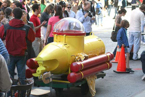 Maker Faire RI Yellow Submarine