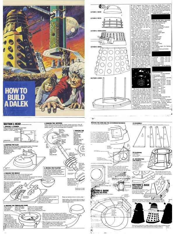 How To Build An Official Bbc Dalek Ca 1973 Make