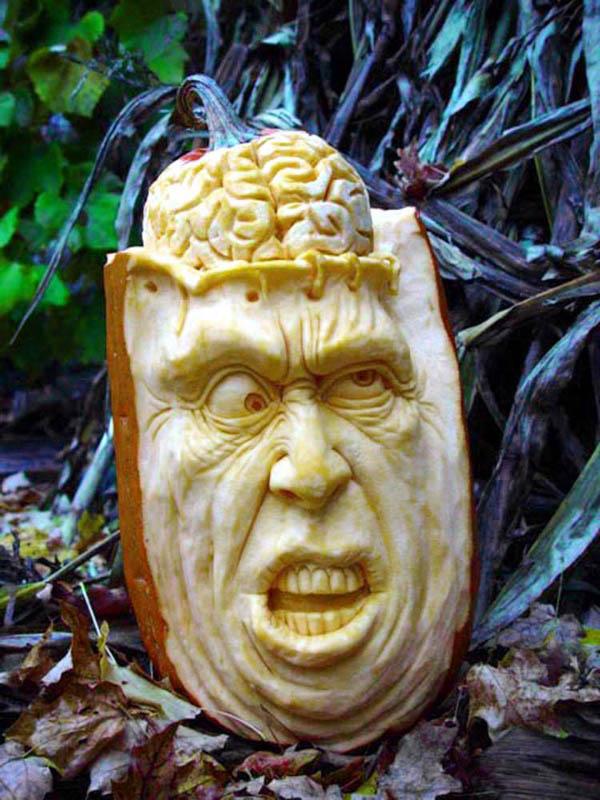 How to carve astounding art pumpkins make